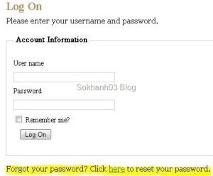 password_logon