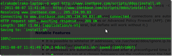 Linux-Administration-Pro-DDOS-Deflate-Install